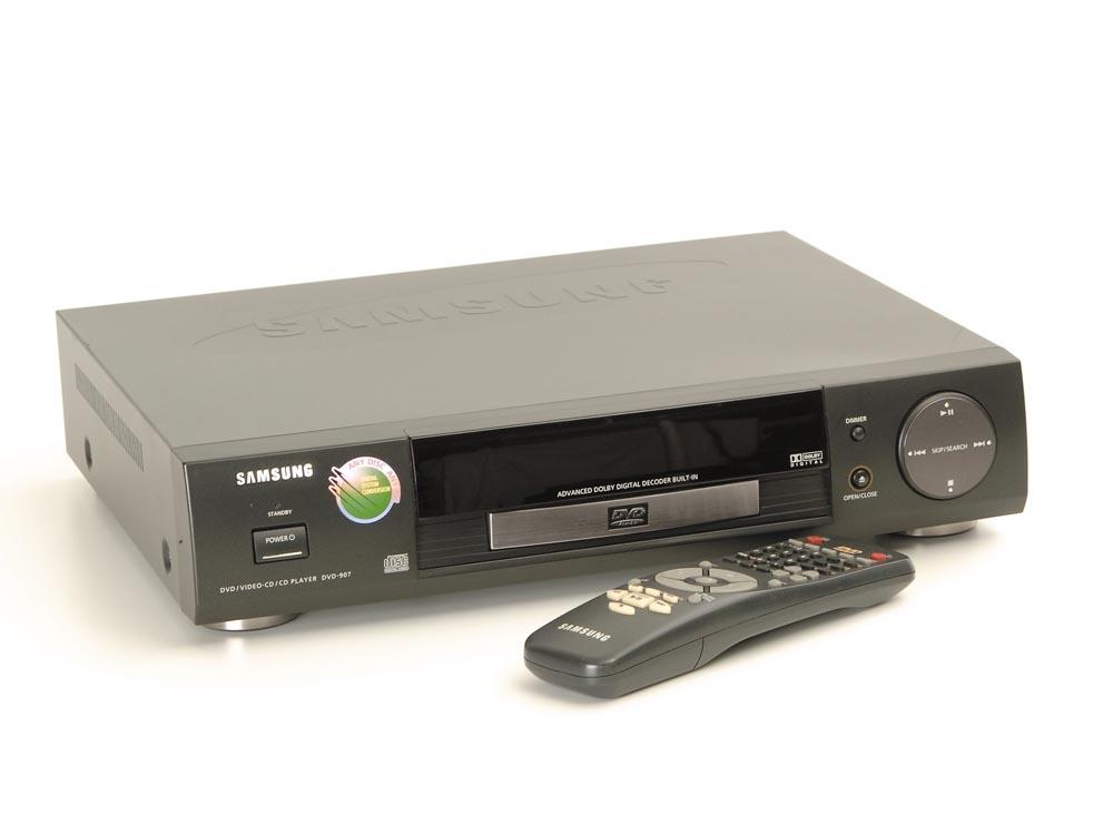 samsung dvd 907 dvd player dvd ger te ger te. Black Bedroom Furniture Sets. Home Design Ideas