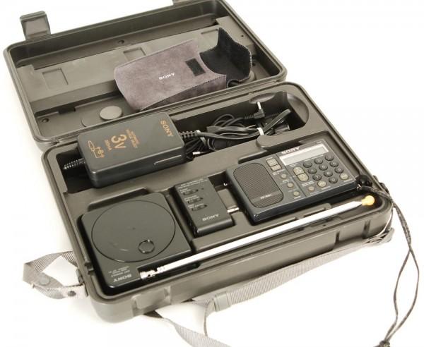 Sony ICF-SW 1S Weltempfänger Set