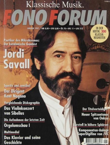 Fono Forum 1/1997 Zeitschrift