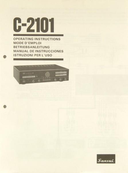 Sansui C-2101 Bedienungsanleitung