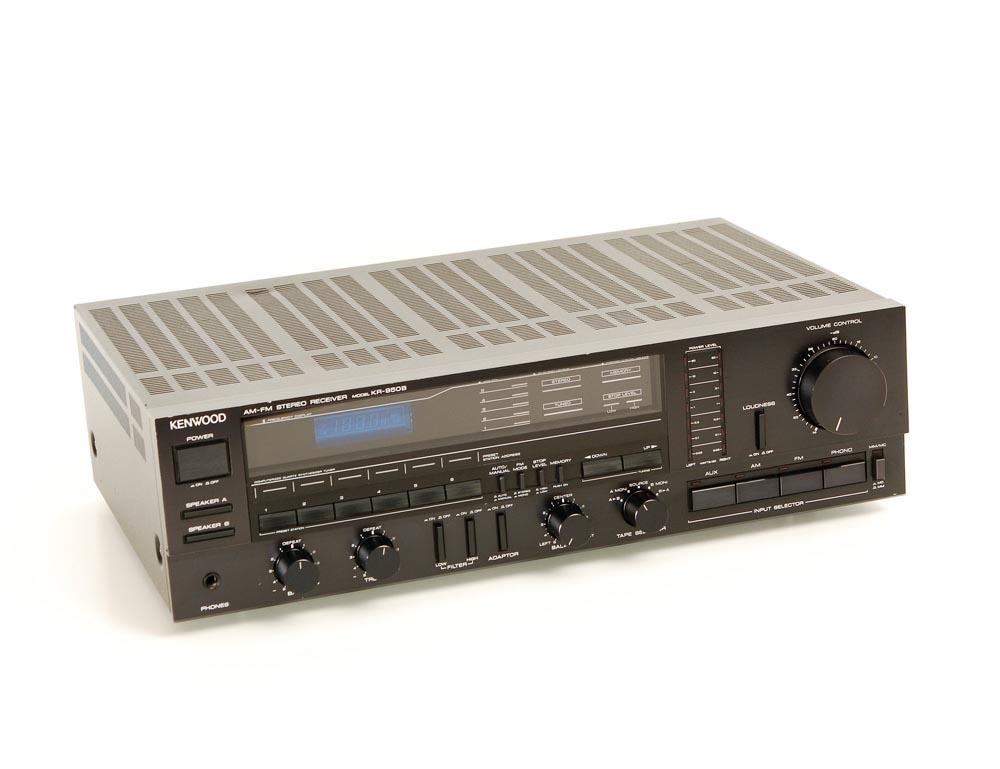 kenwood kr 950 b receiver receiver ger te gebrauchte hifiger te kaufen. Black Bedroom Furniture Sets. Home Design Ideas