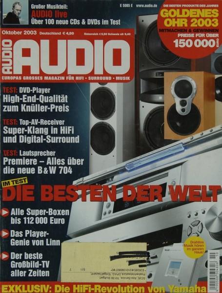 Audio 10/2003 Zeitschrift