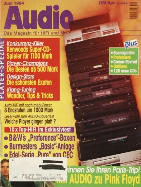 Audio 6/1994 Zeitschrift
