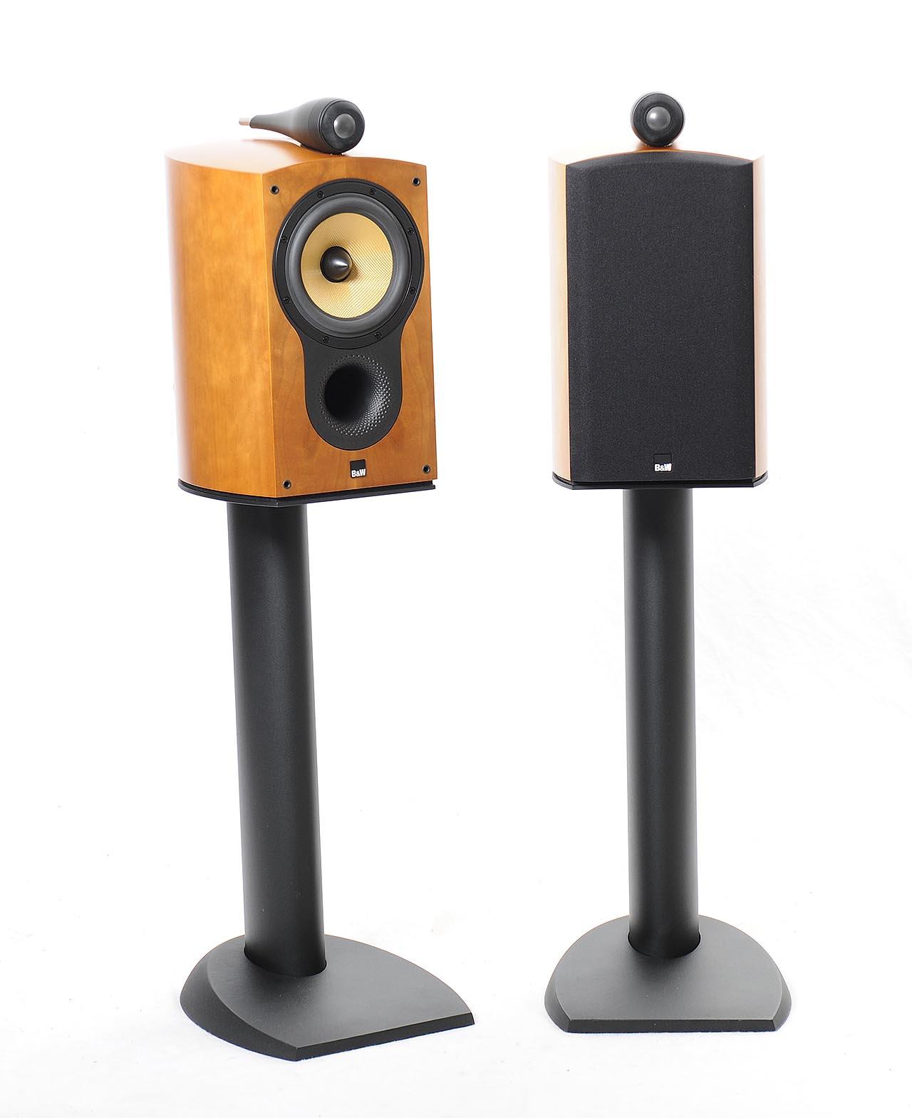 B&W Nautilus 805 S with Stands   Bookshelf Speakers   Loudspeakers   Spring  Air