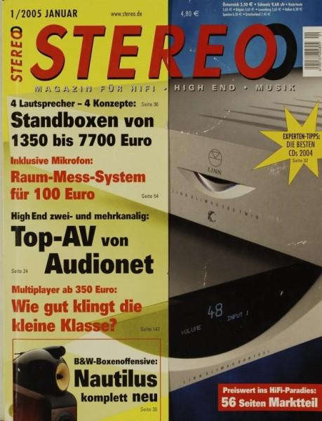Stereo 1/2005 Zeitschrift