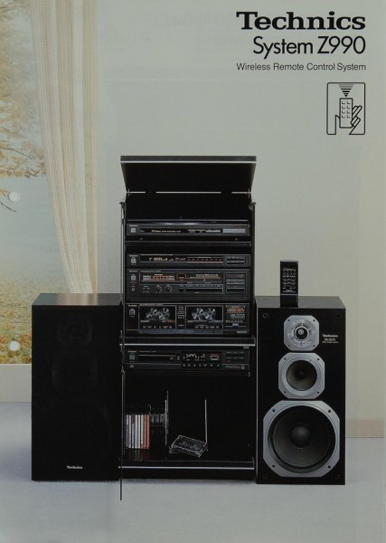 Technics System Z 990 Prospekt / Katalog
