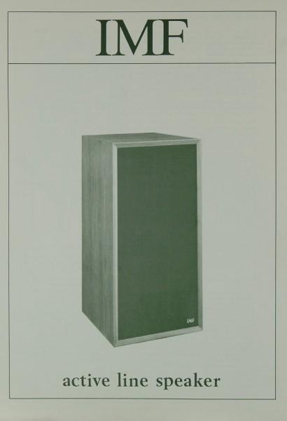 IMF Active Line Speaker Prospekt / Katalog