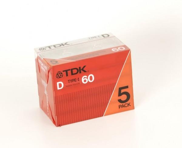 TDK Type-I D 60 5 er Pack NEU!