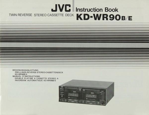 JVC KD-WR 90 B/E Bedienungsanleitung