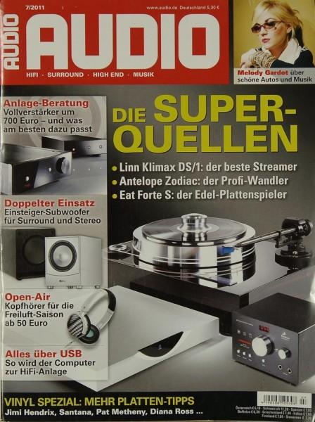 Audio 7/2011 Zeitschrift
