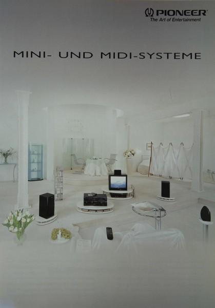 Pioneer Mini- und Midi-Systeme Prospekt / Katalog
