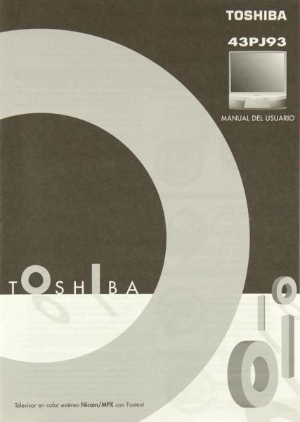 Toshiba 43 PJ 93 Bedienungsanleitung