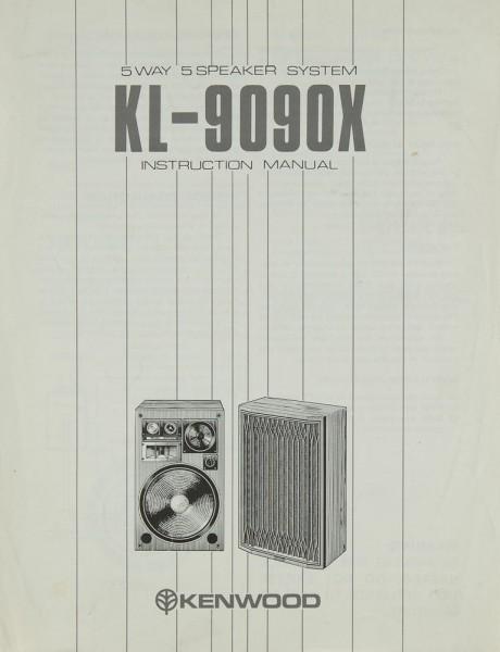 Kenwood KL-9090 X Bedienungsanleitung