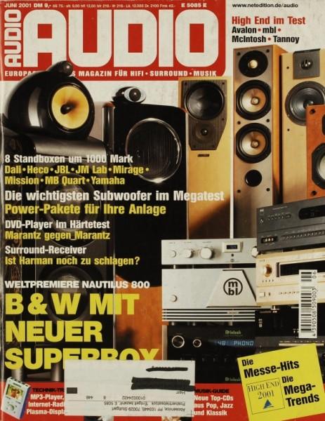 Audio 6/2001 Zeitschrift