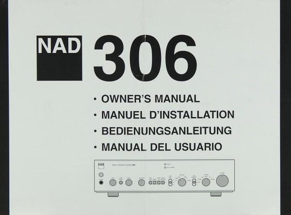 NAD 306 Bedienungsanleitung
