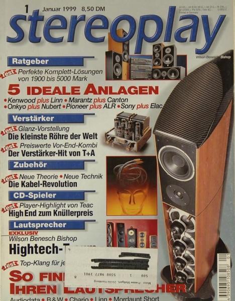 Stereoplay 1/1999 Zeitschrift