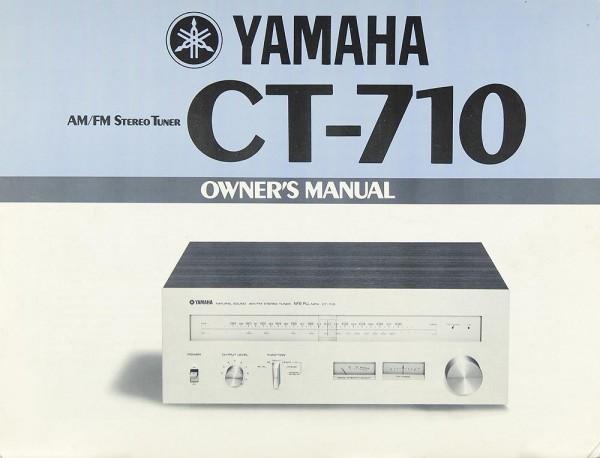 Yamaha CT-710 Bedienungsanleitung