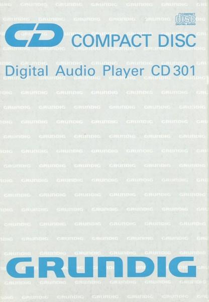 Grundig CD 301 Bedienungsanleitung