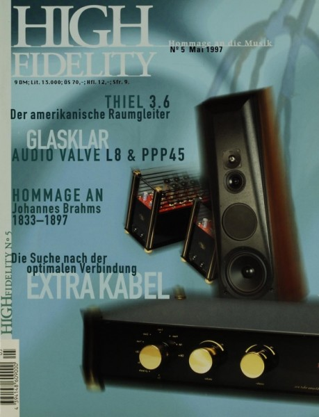 High Fidelity 5/1997 Zeitschrift