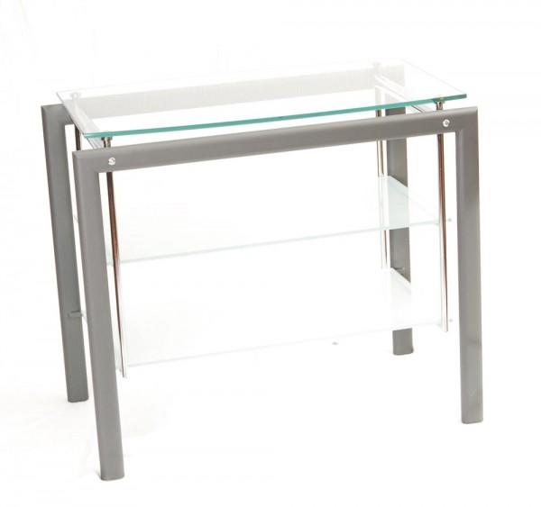 Rack Metall Glas Schwebeoptik