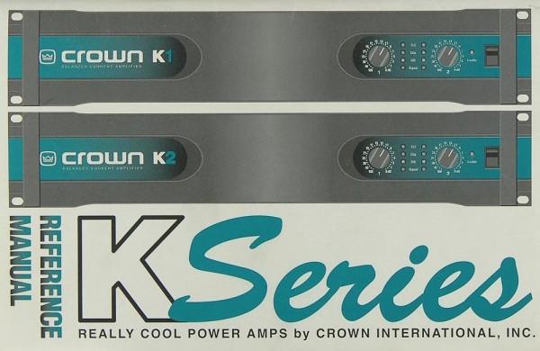 Crown K Serie Bedienungsanleitung