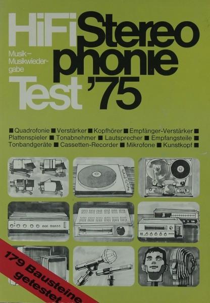 Hifi Stereophonie Test ´75 Hifi-Jahrbuch