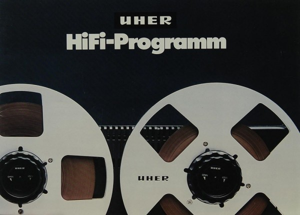 Uher Hifi-Programm Prospekt / Katalog