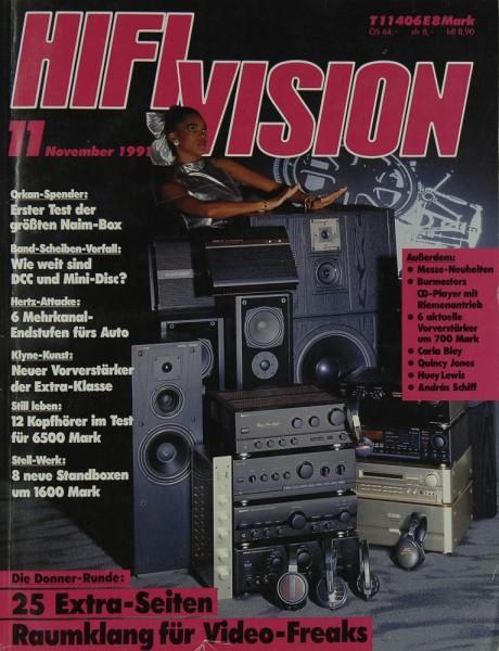 Hifi Vision 11/1991 Zeitschrift