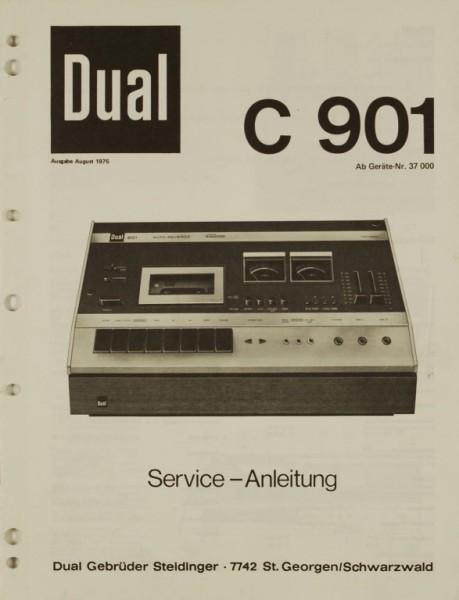 Dual C 901 Schaltplan / Serviceunterlagen
