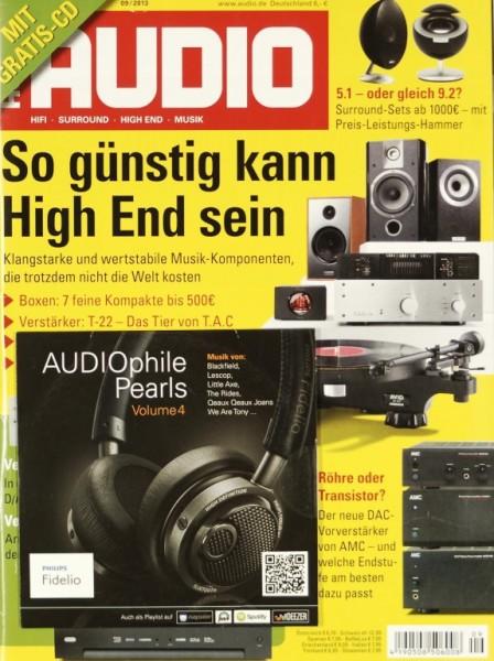 Audio 9/2013 Zeitschrift