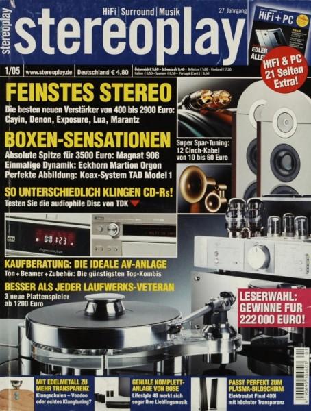Stereoplay 1/2005 Zeitschrift
