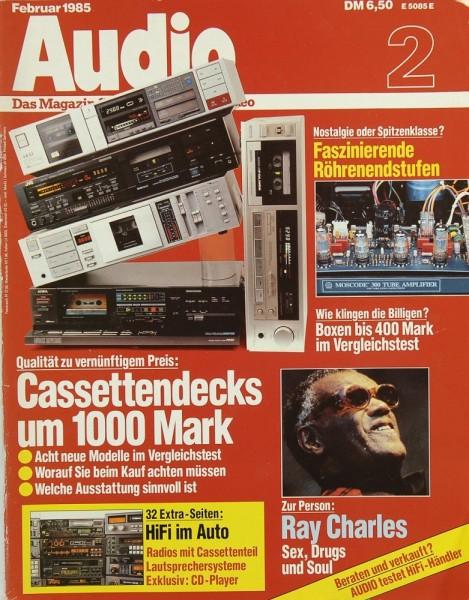 Audio 2/1985 Zeitschrift