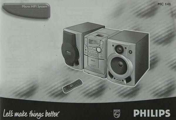 Philips MC 148 Bedienungsanleitung