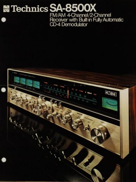 Technics SA-8500X Prospekt / Katalog