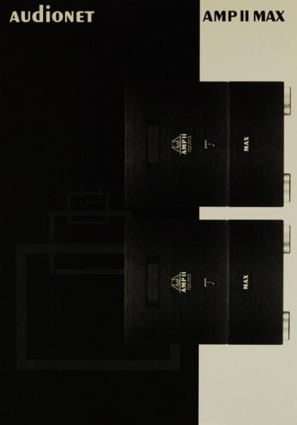 Audionet AMP II MAX Prospekt / Katalog