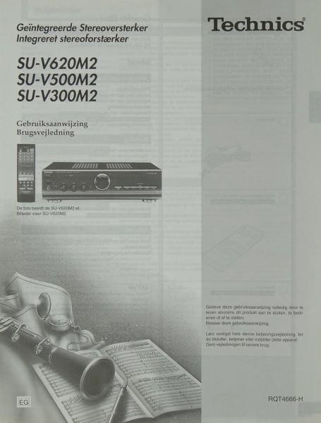 Technics SU-V 620 M2 / 500 M2 / 300 M2 Bedienungsanleitung