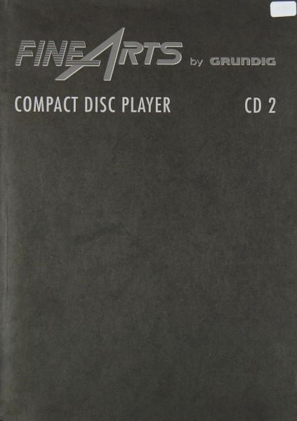 Fine Arts / Grundig CD 2 Bedienungsanleitung