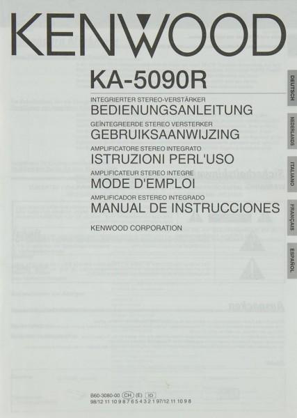 Kenwood KA-5090 R Bedienungsanleitung