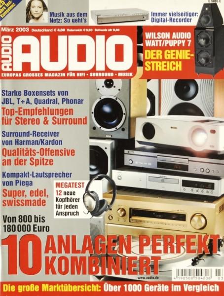 Audio 3/2003 Zeitschrift