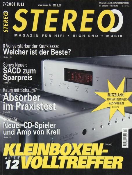Stereo 7/2001 Zeitschrift