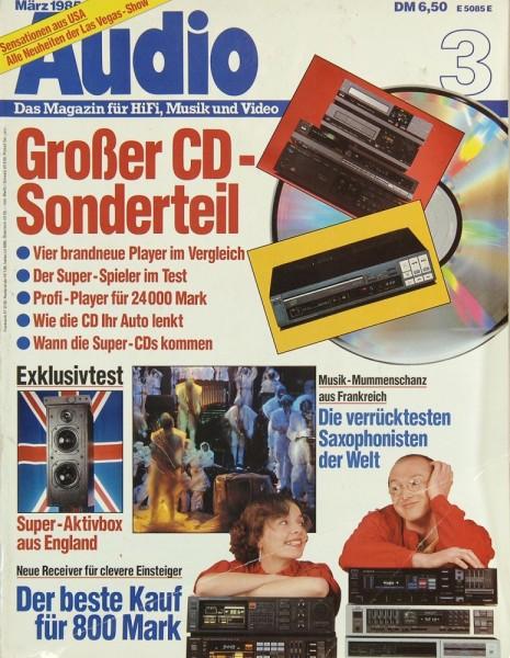 Audio 3/1985 Zeitschrift