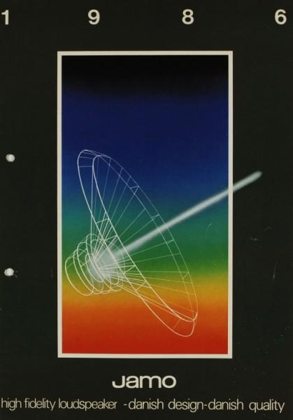 Jamo 1986 Prospekt / Katalog