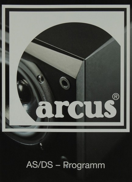 Arcus AS / DS-Programm Prospekt / Katalog