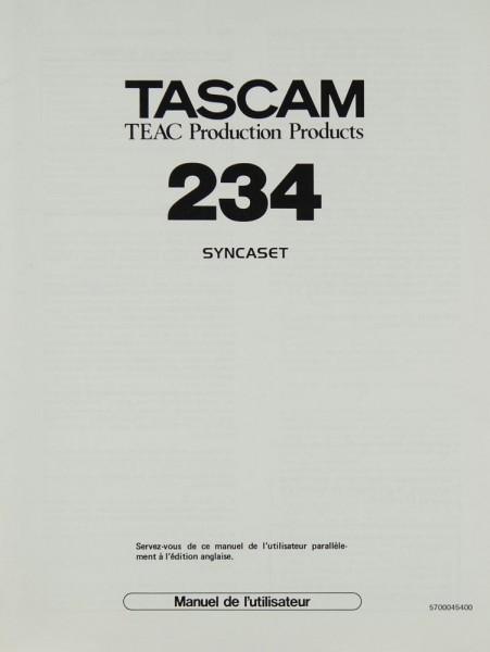Tascam / Teac 234 Bedienungsanleitung