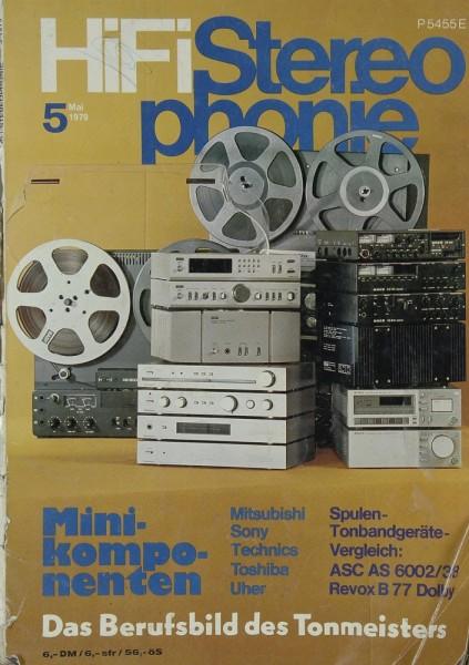 Hifi Stereophonie 5/1979 Zeitschrift