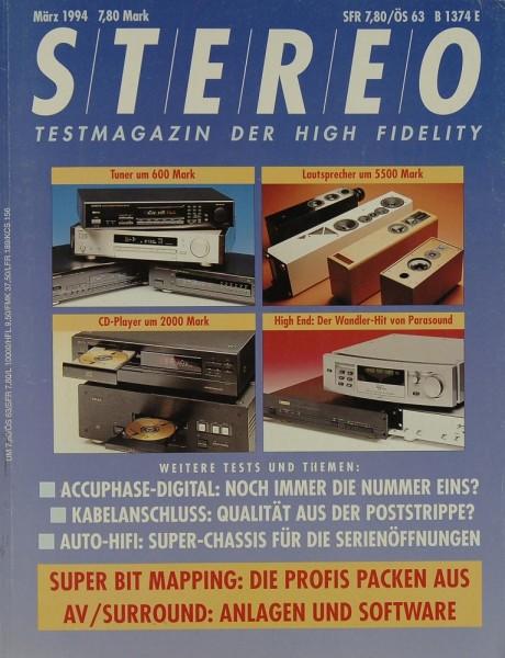 Stereo 3/1994 Zeitschrift