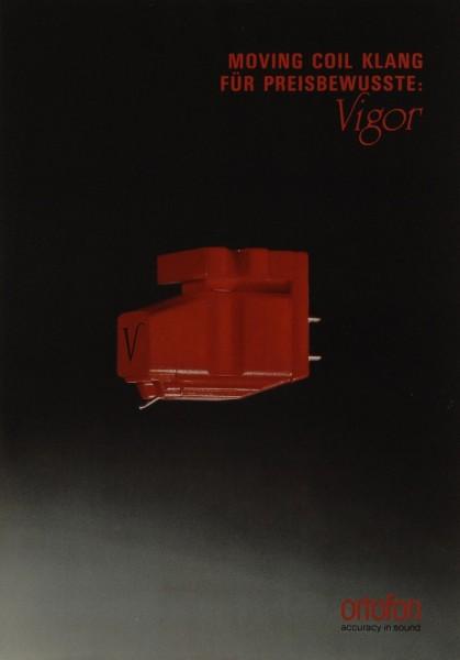 Ortofon Vigor Prospekt / Katalog