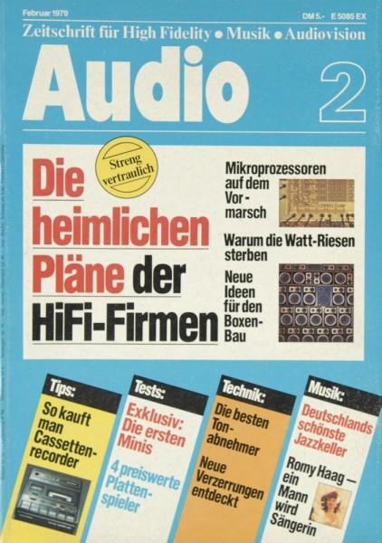 Audio 2/1979 Zeitschrift