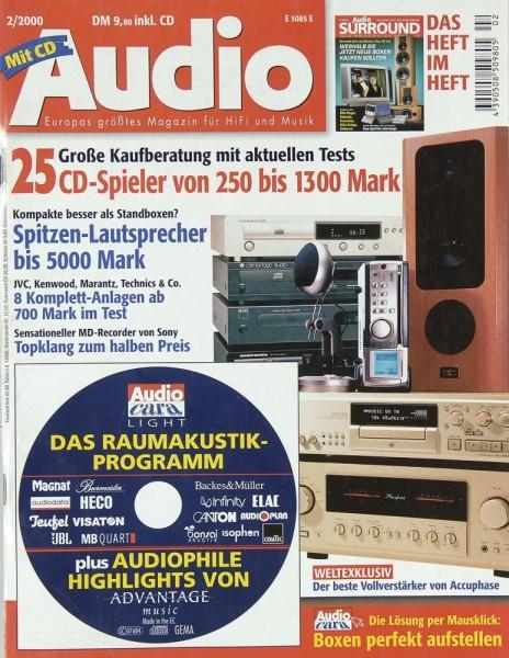 Audio 2/2000 Zeitschrift