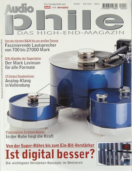 Audiophile 3/2000 Zeitschrift